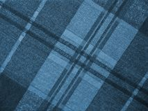 Blue plaid. Various blues in a plaid texture background Royalty Free Stock Image