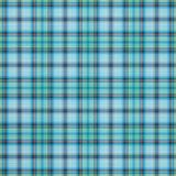 Blue plaid background. Plaid background in blue, gray and yellow colors royalty free illustration
