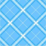 Blue plaid pattern vector illustration
