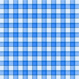 Blue plaid pattern Royalty Free Stock Photography