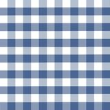 Blue plaid pattern. On white Royalty Free Stock Images