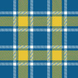 Blue plaid pattern. For background Royalty Free Stock Images