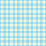 Blue plaid seamless pattern. Cute  background Stock Photo