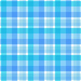 Blue plaid seamless pattern. Vector. Background Royalty Free Stock Photos