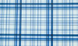 Blue plaid texture. Blue stripes on white background. Blue plaid texture with stripes on white background. Artistic creative modern art. Blue vertical and stock image
