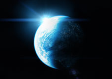 The Blue Planet Stock Images
