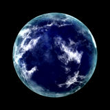 Blue planet Stock Photo