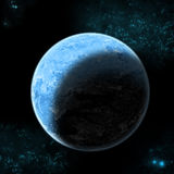 The blue planet. Royalty Free Stock Photo