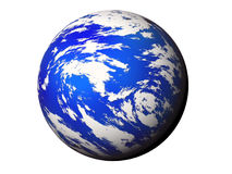 Blue planet. Royalty Free Stock Photos