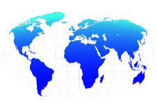Blue planet Royalty Free Stock Photography