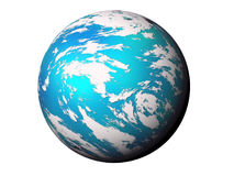 Blue planet. Stock Image