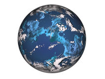 Blue planet. Royalty Free Stock Images