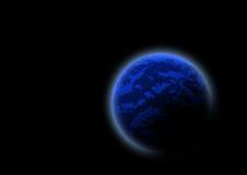 Blue planet Royalty Free Stock Photos
