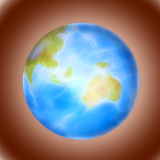 Blue planet Royalty Free Stock Photos