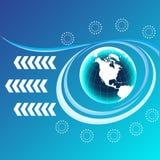 Blue Planet Stock Image