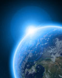 Blue planet earth Stock Photo
