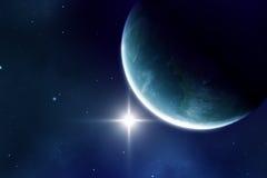 Blue planet Stock Photos
