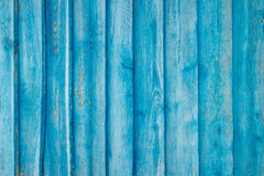 Blue Plank Wall Royalty Free Stock Images