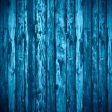 Blue planks background Royalty Free Stock Photos