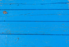 Blue Planks Stock Photography
