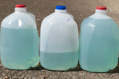 Blue Plant Fertilizer Liquid Stock Photos