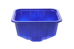 Blue Plasitic Container Royalty Free Stock Photo