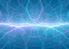 Blue plasma, abstract Stock Photo