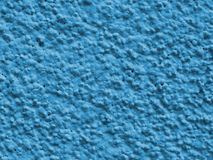Blue plaster Stock Images