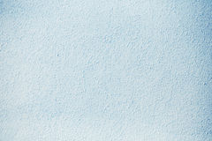 Blue  Plastered Concrete Wall Background Texture Detail Royalty Free Stock Image