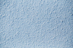 Blue  Plastered Concrete Wall Background Texture Detail Royalty Free Stock Photography