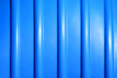 Blue plastic background Stock Photography
