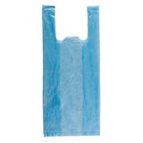 Blue Plastic Bag Royalty Free Stock Photo