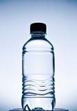 Blue plastic bottle. Stock Image