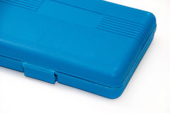 Blue plastic box for tools Royalty Free Stock Photos