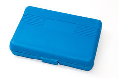 Blue plastic box for tools Royalty Free Stock Image