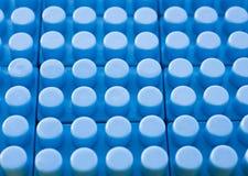 Blue plastic construction background Stock Image