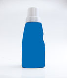 Blue Plastic Jerrycan Royalty Free Stock Photography