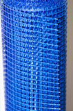 Blue plastic mesh Stock Image