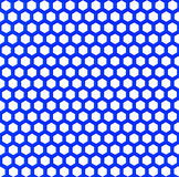 Blue plastic mesh Stock Photography