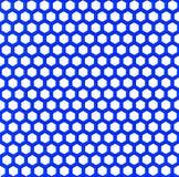 Blue plastic mesh. On white background Stock Photography