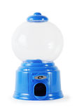 Blue plastic miniature empty candy machine Stock Photo