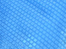 Blue plastic surface Stock Images