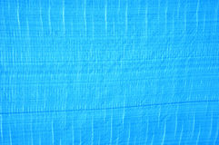 Blue plastic tent Royalty Free Stock Images