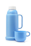 Plastic Thermos Flask Royalty Free Stock Photo