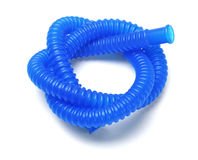 Blue Plastic Tubing Stock Photography
