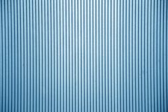 Blue plastic wall texture Stock Photography