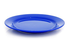 Blue plate Royalty Free Stock Photos