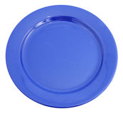 Blue plate Royalty Free Stock Images