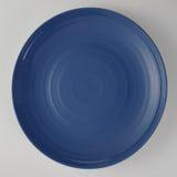 Blue plate Stock Photos