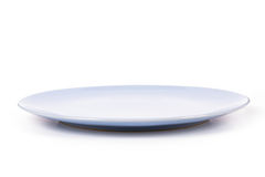 Blue Plate Stock Photography